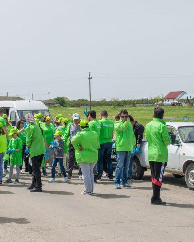 Acțiune de ecologizare a zonei pestera Limanu – mai 2017