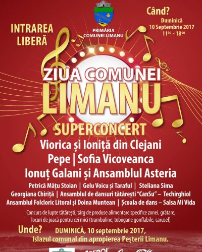 Ziua comunei Limanu – Cânt și joc și voie bună!